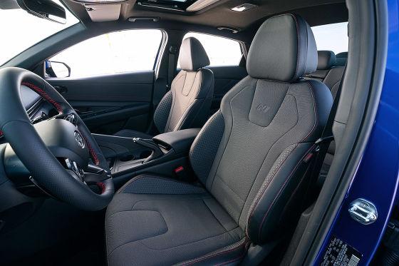 Erste Teaser zeigen: Als N Line wird der Hyundai Elantra noch schöner