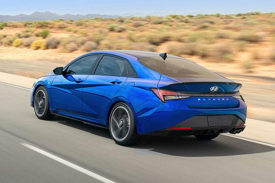 Hyundai präsentiert den Elantra als sportliches N Line-Modell