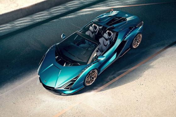 Mit 819 PS ist Lamborghinis offener Sián noch stärker als das Coupé!
