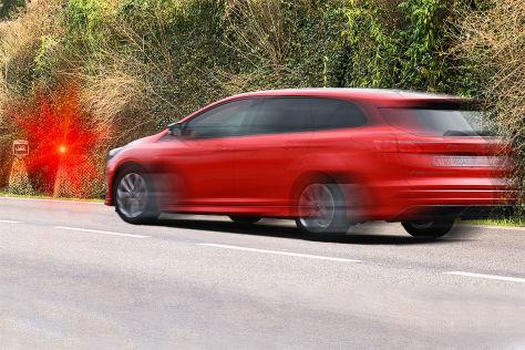 Blitzer: Bußgeld, Punkte, Ford Focus, Strafe, fehlerhafter Blitzer