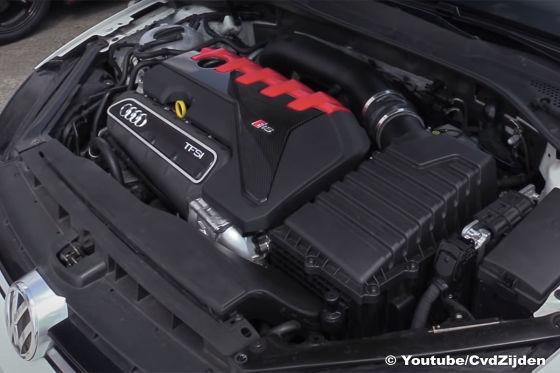 VW Golf 7 R mit Audi RS 3-Motor und 740 PS