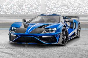 Ford GT mit komplett neuer Front