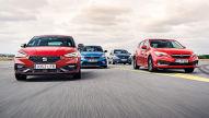 Kia Ceed, Opel Astra, Seat Leon, Subaru Impreza: Test, Motor, Preis