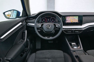 Skoda Octavia im Connectivity-Check