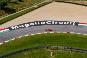 1000. Ferrari-Rennen in Mugello
