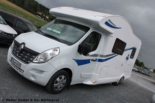Renault Master als Ahorn Camp T 660: Gebrauchtwagen