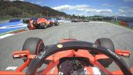 Formel 1: Ferrari-Crash
