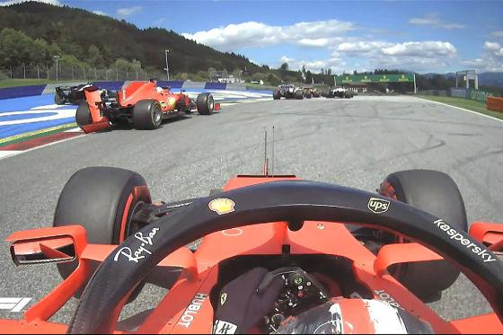 Formel 1 Ferrari Crash Leclerc Entschuldigt Sich Bei Vettel Autobild De