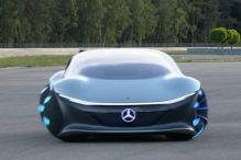 Die erste Fahrt im Mercedes Vision AVTR - das Auto der Zukunft