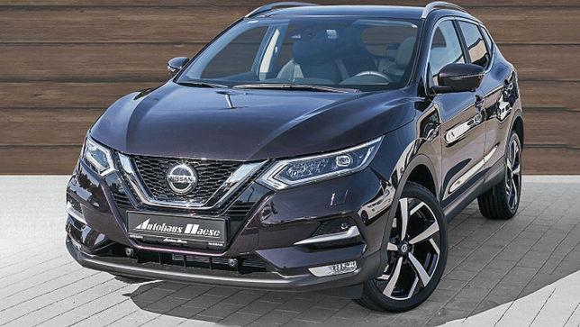 Kaum gefahrener Nissan Qashqai mit guter Ausstattung zum kleinen Preis