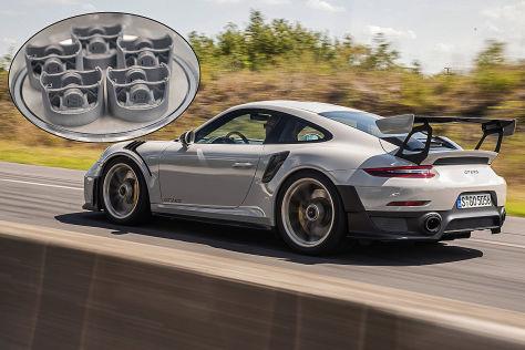 Porsche 3D-Druck-Kolben (2020): GT2 RS, Technik, Erklärung, Motor