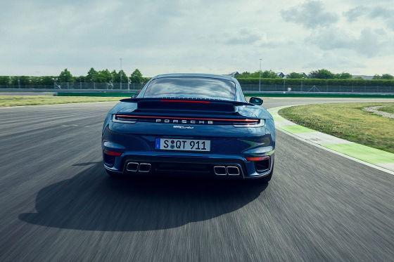 Neuer Porsche 911 Turbo: Fahrleistungen ganz nah am 911 Turbo S