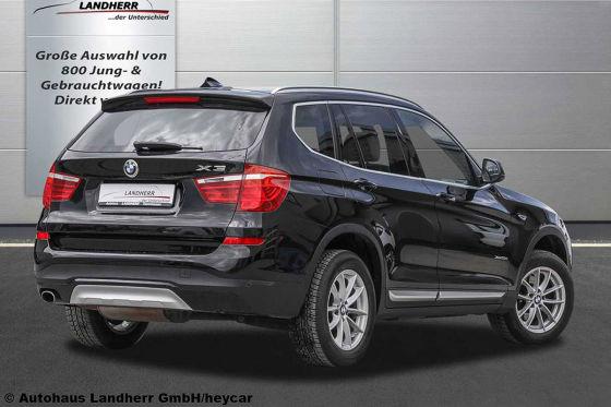 BMW X3 mit Allrad und Euro 6-Diesel zum günstigen Preis