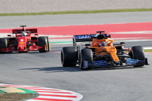 McLaren obenauf, Ferrari am Boden