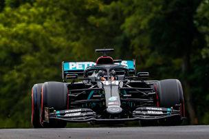 Mercedes und Racing Point vorn