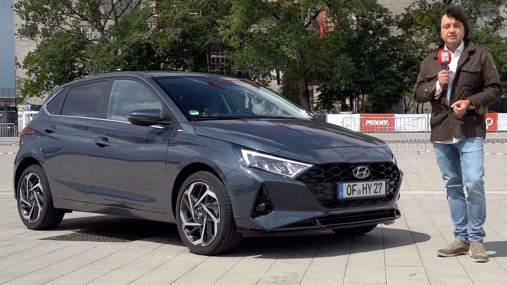 Erste Fahrt im neuen Hyundai i20