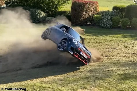 Mini John Cooper Works GP: Crash, Video