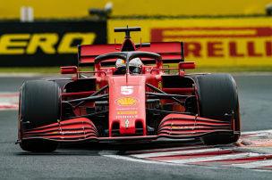 Vettel wieder frei im Kopf