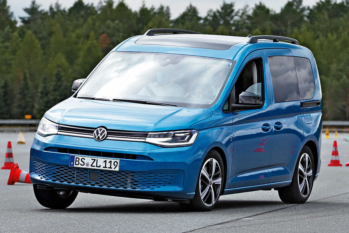 vw caddy (2020) im test - bilder - autobild.de
