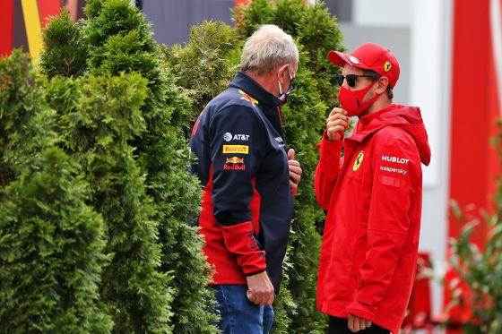 Vettel in geheimer Mission