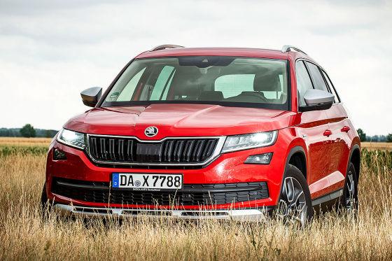 Drei Jahre alten Skoda Kodiaq Diesel für unter 20.000 Euro kaufen