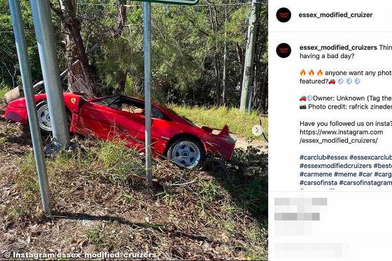 Extrem seltener Millionen-Ferrari auf Testfahrt gecrasht!