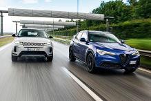 Alfa Romeo Stelvio, Range Rover Evoque: Test, Motor, Preis