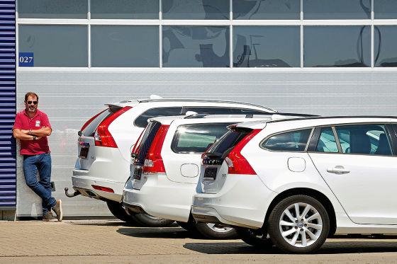 Volvo V70, Volvo XC60, Volvo V60