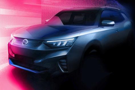 SsangYong E100 (2021): Teaser, Elektro-SUV, Studie Reichweite, Marktstart