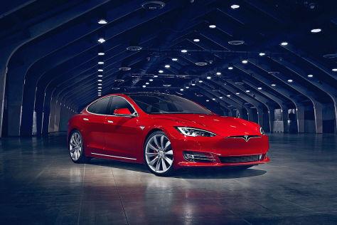 Tesla Model S und Model X: Update, Facelift, Palladium, Motor, Akku