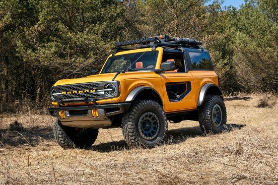 Die Basis-Version des Ford Bronco ist in den USA ein wahres Schnäppchen