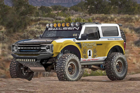 Ford Bronco Tuning: Saleen