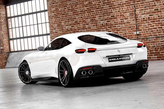 700 PS für den Ferrari Roma