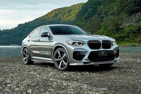 BMW X4 M Tuning: 3D Design Carbon-Kit