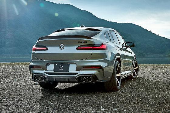 Carbon-Teile für den BMW X4 M