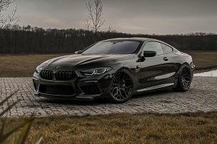 BMW M8 mit Dämpfern aus dem M4 GTS