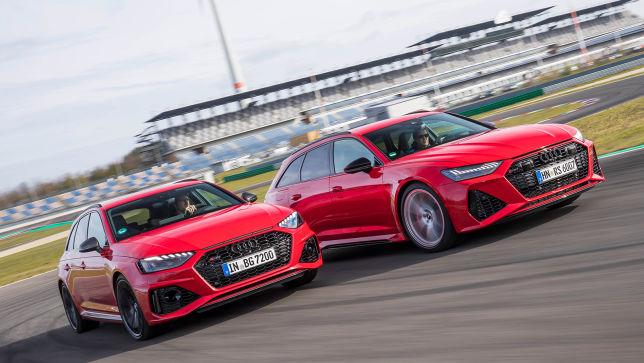 Die beiden Sportskombis RS 4 und RS 6 von Audi im Vergleich