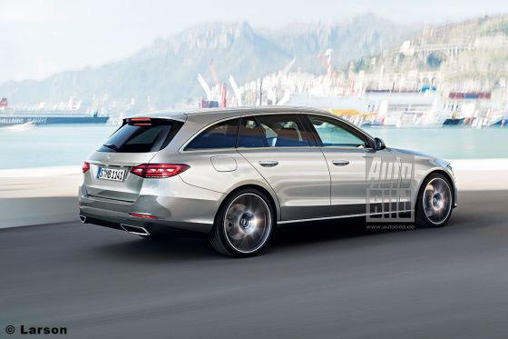 So könnte die kommende Generation der Mercedes C-Klasse aussehen.