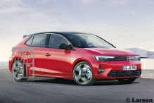 Opel Astra-e (2021): Elektro, Vorschau, Illustration, PSA