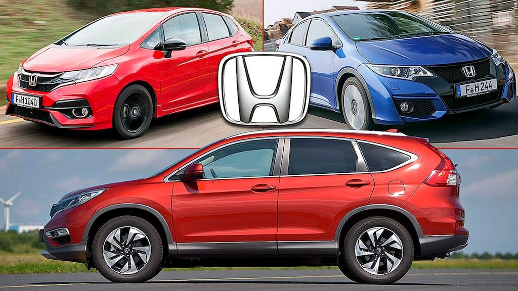 Stärken und Schwächen gebrauchter Honda-Modelle