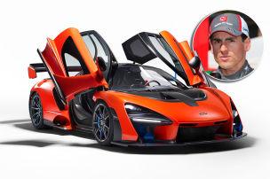 Limitierter McLaren Senna LM gecrasht