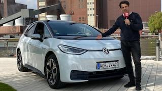 Erste Fahrt im neuen VW ID.3
