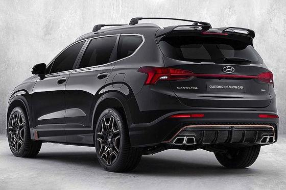 N Performance Paket macht den Hyundai Santa Fe deutlich sportlicher