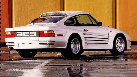 Rinspeed Porsche R69 Turbo: Tuning