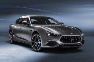 Maserati Ghibli jetzt als Mildhybrid