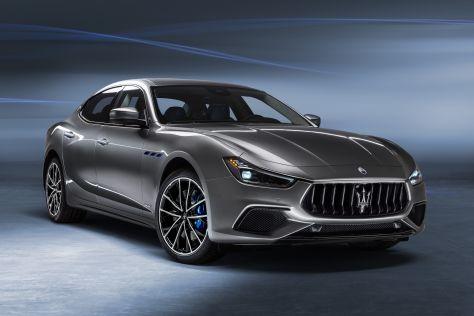 Maserati Ghibli Hybrid: 48-Volt-Hybridsystem