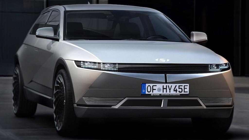 So könnte der voll elektrische Hyundai 45 kommen