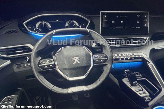 Leakbilder zeigen neues Markengesicht beim Peugeot 3008 Facelift