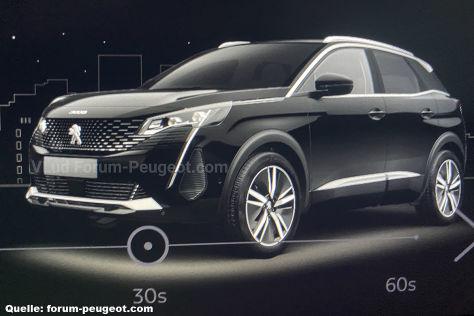 Peugeot 3008 Facelift (2021)
