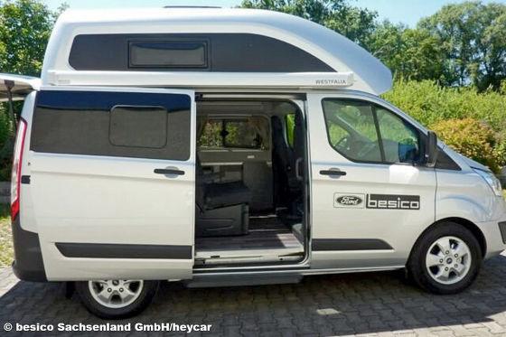 Ford Transit Custom Nugget: Camper, Gebrauchtwagen